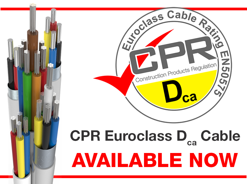 CPR Euroclass Dca Cable